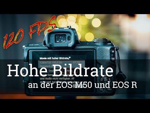 ⭐️ 120 FPS: Hohe Bildrate an der EOS M50 und der EOS R (mit Beispielaufnahmen)