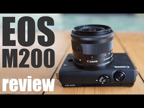 Canon EOS M200 review: BUDGET mirrorless in-depth!