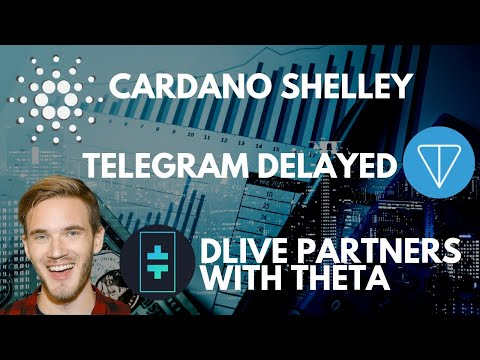 Cardano Shelley Update | Telegram Gram Token, SEC | DLive Partners With Theta Network | bitcoin news