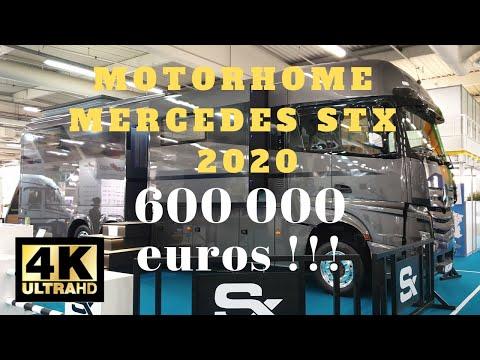 TRAVEL 4K presents : Camping car Mercedes Motorhome STX actros 2651  modele 2020 en 4k Ultra HD