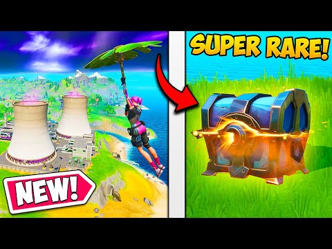 *NEW* MAP + SUPER RARE CHESTS!! – Fortnite Funny Fails and WTF Moments! #710