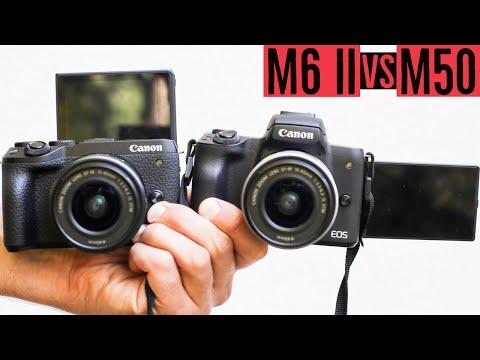 Canon EOS M6 Mark II vs EOS M50: Warum ich die M6 II gekauft habe