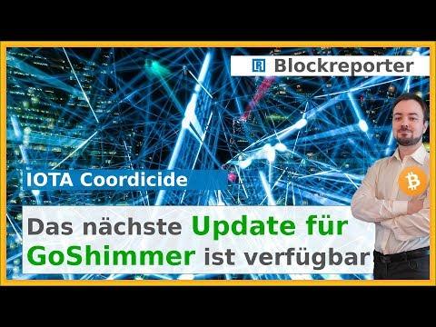 IOTA GoShimmer erhält Update Richtung Coordicide | Blockreporter deutsch kryptowährung