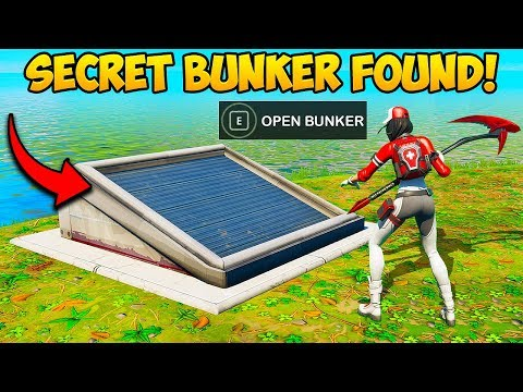 *NEW* SECRET BUNKER FOUND ON NEW MAP!! – Fortnite Funny Fails and WTF Moments! #711