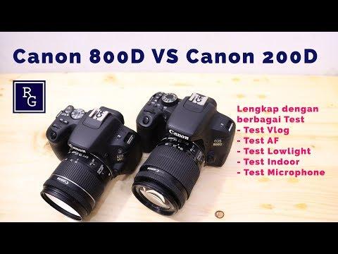 Review Canon EOS 800D VS Canon EOS 200D – Mana yang lebih bagus ???