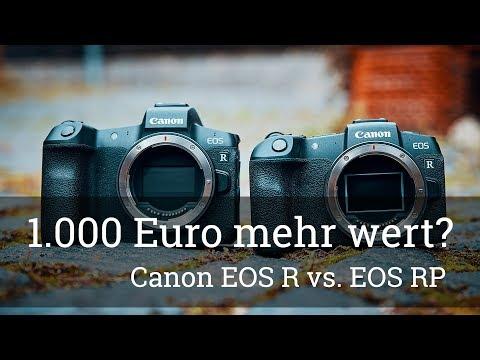 ⭐️ Canon EOS R – ist sie wirklich 1.000 Euro mehr wert als die EOS RP? Vergleich (Nur meine Meinung)