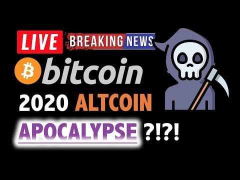 Bitcoin & 'ALTCOIN APOCALYPSE' IN 2020?❗️LIVE Crypto Analysis TA & BTC Cryptocurrency Price News
