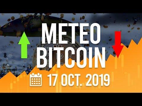 La Météo Bitcoin FR – Jeudi 17 octobre 2019 – Crypto Fanta
