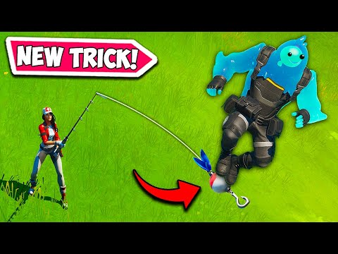 HOW TO *RIDE* A FISHING ROD – Fortnite Funny Fails and WTF Moments! #713