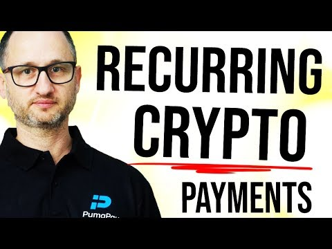 BIGGEST CRYPTO ROADBLOCK – Recurring Payments, Interview with PumaPay