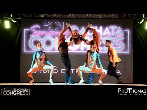 Extravagance Dance Company by Andrea & Silvia [DAME] @ BCN Sensual Bachata Congress 2019
