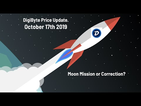 DigiByte Price Update October 17th, 2019