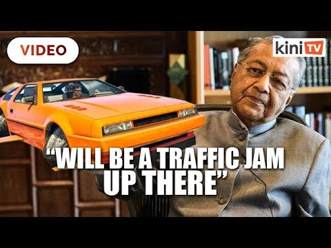 Traffic in the sky? – M'sia not ready for mass use of flying cars, says Dr M