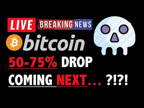Bitcoin HISTORY SAYS 50-75% DROP IS COMING?❗️LIVE Crypto Analysis TA & BTC Cryptocurrency Price News