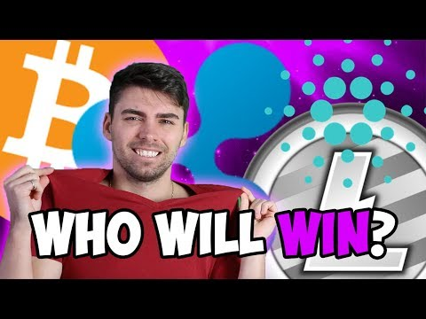 WHICH CRYPTO WILL WIN THE BIG RACE? BITCOIN, CARDANO, RIPPLE OR LITECOIN?