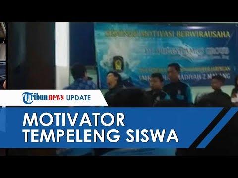 Viral Video Motivator Tempeleng Siswa saat Seminar, Pelaku Diduga Tersinggung Ada Siswa yang Tertawa