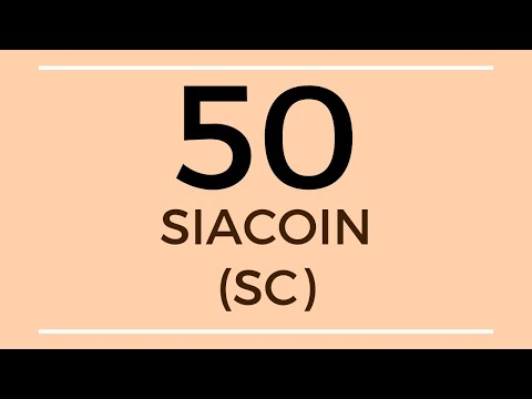 Siacoin SC Technical Analysis (18 Oct 2019)