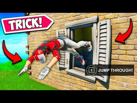 *NEW TRICK* JUMP THROUGH ANY WINDOW!! – Fortnite Funny Fails and WTF Moments! #714
