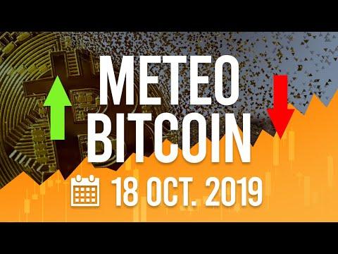 La Météo Bitcoin FR – Vendredi 18 octobre 2019 – Crypto Fanta