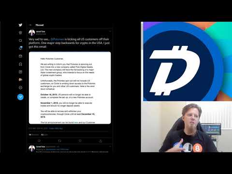 DigiByte Update – #102 – SafePal wallet support, Poloniex (Circle) delisting USA