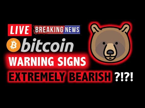 Bitcoin EXTREMELY BEARISH WARNING SIGNS? ❌❗️LIVE Crypto Analysis TA & BTC Cryptocurrency Price News