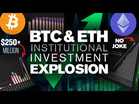 BITCOIN Breaks DOWN! Yet Institutions Invest $250M+? Is This a SETUP?