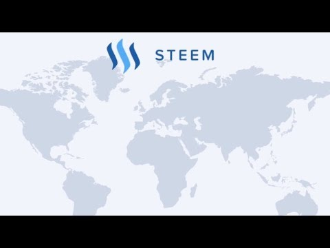 Was ist Steem? Blockchain Social Media Plattform Steemit Promo deutsch