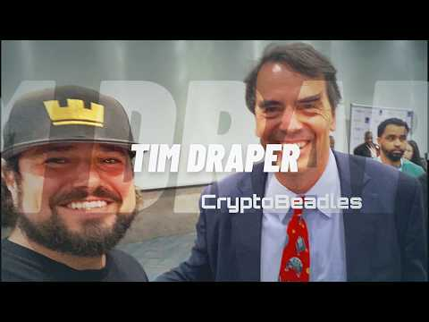 Tim Draper tells us whats going down in blockchain, crypto and way more