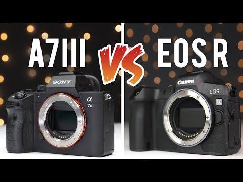 Sony A7iii vs Canon EOS R | Full Frame Mirrorless Showdown