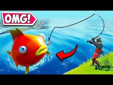 *NEW* MEGA FISH IS INSANE!! – Fortnite Funny Fails and WTF Moments! #715