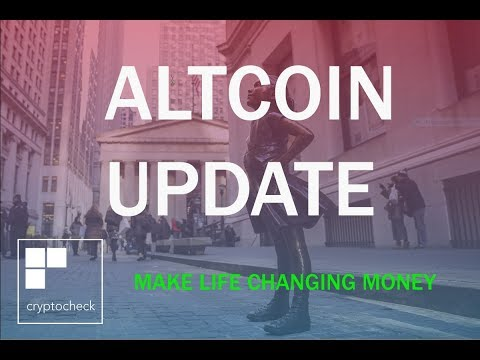 ALTCOIN UPDATE – XRP and XLM  + MORE