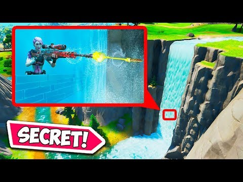 *SECRET* WATERFALL HIDING SPOT!! – Fortnite Funny Fails and WTF Moments! #716