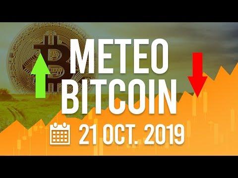 La Météo Bitcoin FR – Lundi 21 octobre 2019 – Crypto Fanta