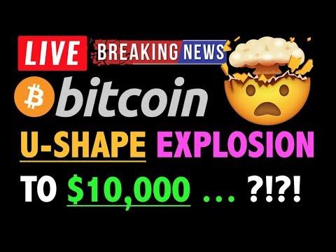 Bitcoin U-SHAPE EXPLOSION TO $10,000 NEXT?❗️LIVE Crypto Analysis TA & BTC Cryptocurrency Price News