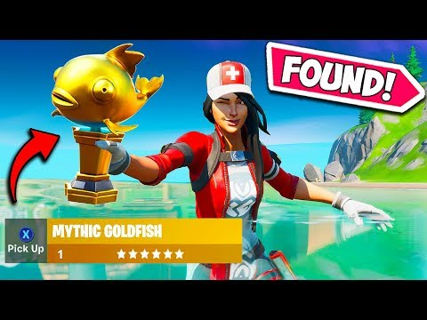 *FIRST EVER* RARE MYTHIC FISH FOUND!! – Fortnite Funny Fails and WTF Moments! #717