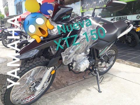 Nueva Yamaha XTZ 150 Ficha Técnica Precio