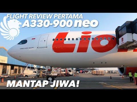 TERBARU! LI0N AIR A330-900 NEO JT3539 SOC-CGK + Terminal BARU Bandara SOLO, Keren!