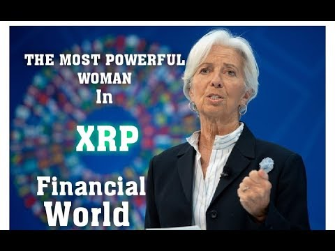 #XRP The Most Powerful Women In The Financial World. Walks In With BIG BG on Her Arm. XRP IS THE KEY