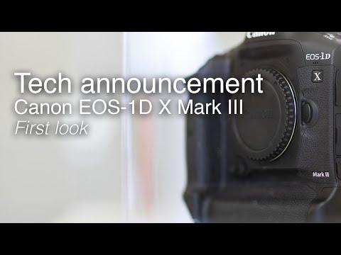 Canon EOS-1D X Mark III | Canon tech announcement