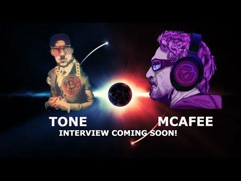 TONE + MCAFEE INTERVIEW COMING! ZUCKERBERG TANKS MARKET! BITCOIN TRON TRX RIPPLE DOWN BIG!