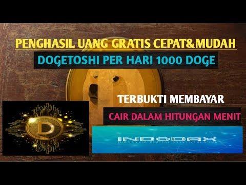 Penghasil Uang Gratis Cepat & Membayar Per Hari 1000 Doge || Dogetoshi