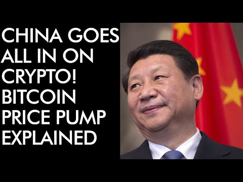 China All In On Crypto! Bitcoin Price Pump Explained