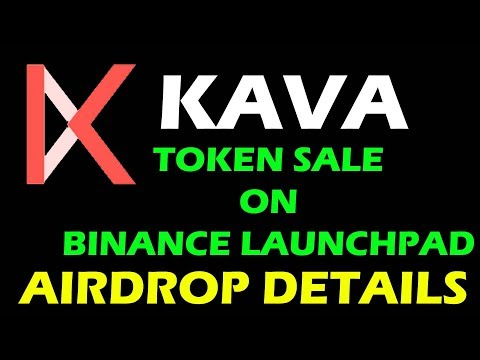 KAVA TOKEN SALE ON BINANCE LAUNCHPAD | KAVA AIRDROP DETAILS #LiveDayTrader