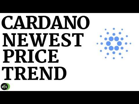 CARDANO (ADA) NEWEST PRICE TREND
