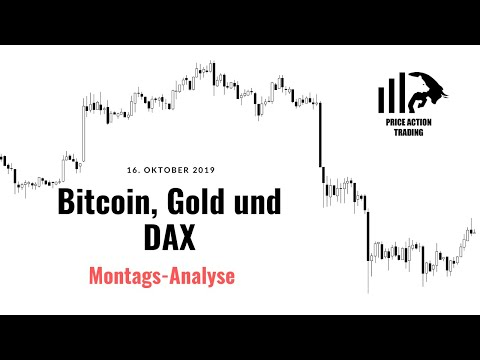 Bitcoin, Gold, DAX Analyse