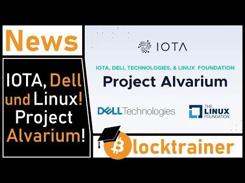 Alvarium: IOTA, Dell und die Linux Foundation!