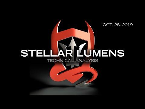 Stellar Lumens Technical Analysis (XLM/USDT) : Some legs but they're a bit wobbly…  [10.28.2019]