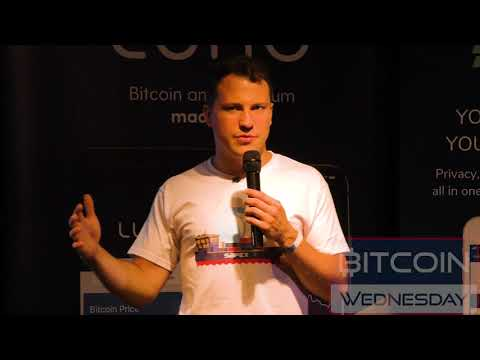Daniel Dabek Presents The Safex Decentralized Marketplace at Bitcoin Wednesday