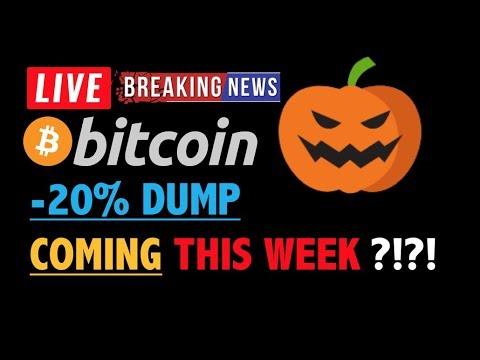 BITCOIN SETUP FOR -20% DUMP THIS WEEK?❗️LIVE Crypto Analysis TA & BTC Cryptocurrency Price News