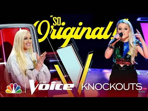 """Kyndal Inskeep """"Performs the Hell Out of"""" Sia's """"Elastic Heart"""" – The Voice Knockouts 2019"""